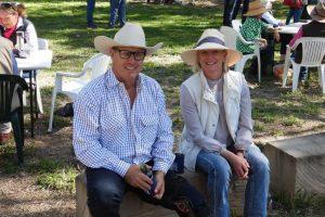 Ben Joyce and Sarah Cox