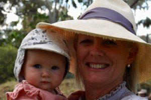 Mrs Cox - baby snatcher!