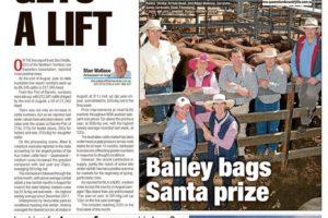 Bailey bags Santa prize | Gyranda Santa Gertrudis