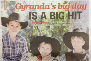 Gyranda's big day is a big hit | Gyranda Santa Gertrudis